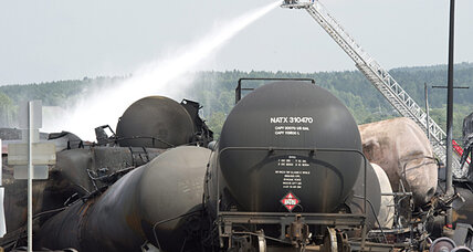 Is oil too dangerous to ship by rail?