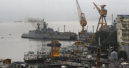 Explosion at Mumbai port sinks Indian submarine