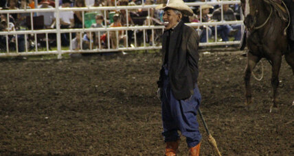 Rep. Steve Stockman invites Obama rodeo clown to Texas. Why?