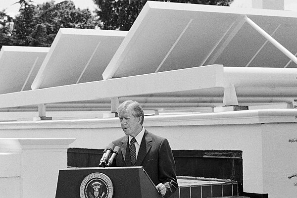 With Us Made Panels White House Goes Solar Again