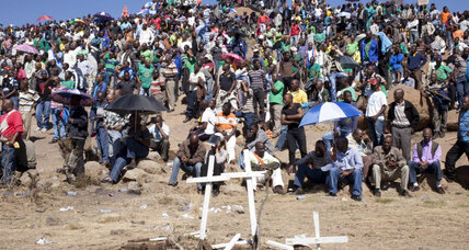 South Africa government a no-show at Marikana massacre anniversary