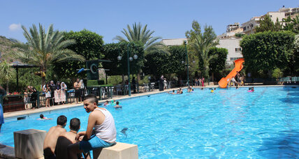 Amid donkeys and farmers, a posh Palestinian country club
