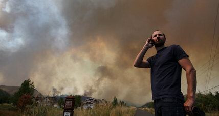 1,600 homes evacuated as firefighters battle Idaho blaze