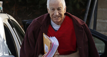 Sandusky victim settles with Penn State
