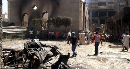 In Egyptian village, Christian shops marked ahead of church attack (+video)