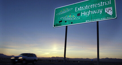UFO sightings at Area 51: Government flying saucer test?