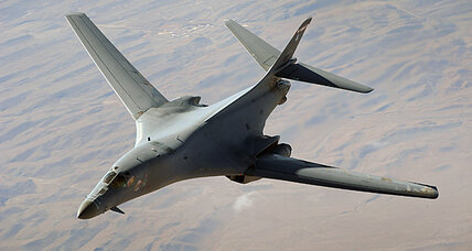 B-1 bomber crash: Four crew members ejected from the aircraft survive