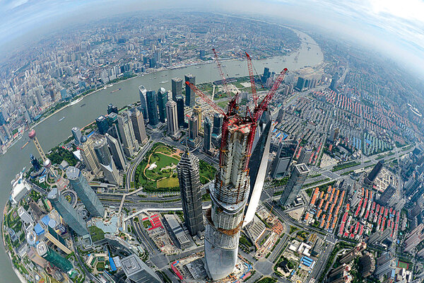 Chinas City In The Sky Just A Fantasy CSMonitorcom