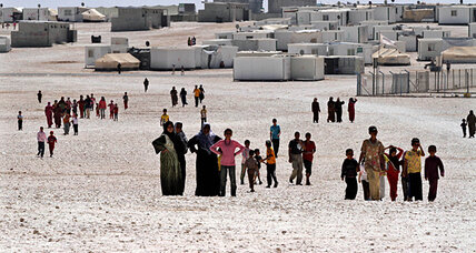 With aid groups stretched thin, Syrian refugees provide their own relief