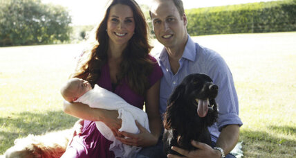 Prince William and Kate Middleton release first photos of the wee Prince George