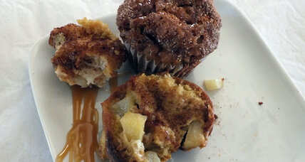 The muffin mix-off contest winner: Apple cinnamon muffins