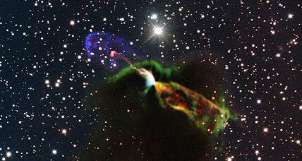 Radio telescope captures birth of star