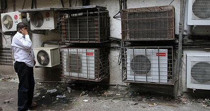 Global air-conditioning: Are we cooling our way to a warmer planet?