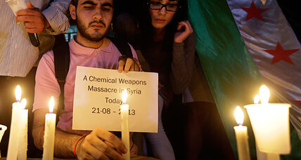 Syria crisis: Could chemical weapons claims prompt Libya-style intervention?
