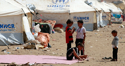 UN: Syrian war has uprooted 1 million children