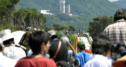 Japan scrubs rocket launch moments before liftoff