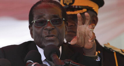 Zimbabwe's Mugabe threatens foreign-owned companies over Western interference