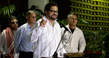 FARC-Colombia peace talks resume amid social unrest