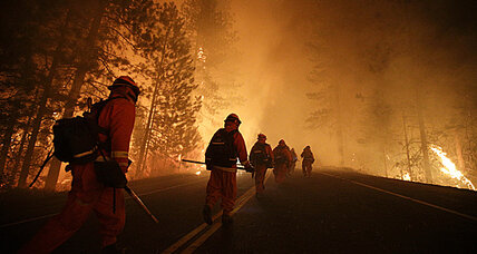 Yosemite Rim Fire: new stress on California's stretched energy grid