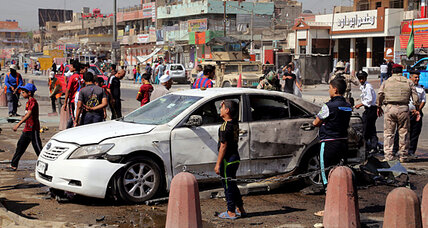 Where Iraq's Maliki pins the blame for Baghdad bombings (+video)