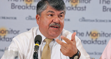 Can AFL-CIO make inroads in Texas? Richard Trumka will try.