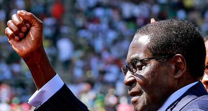 Can Mugabe deliver? After election victory, no more free goats or cellphones (+video)