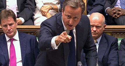 Cameron foiled on Syria vote as Iraq's legacy looms over Britain