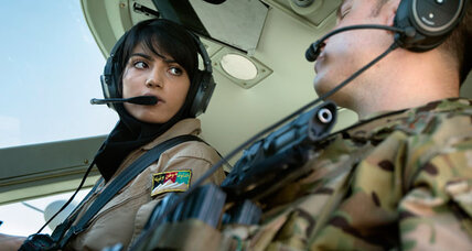 Afghan female military pilot gives wing to young girls' dreams