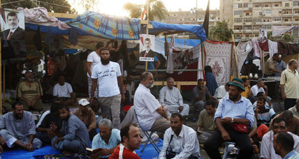 In Egypt, mounting tension between Islamists and military