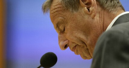 Disgraced San Diego Mayor Bob Filner resigns in negotiated deal