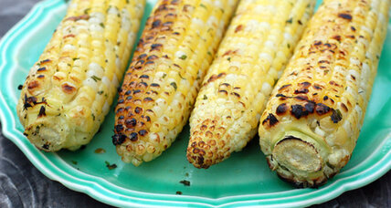 Summer's delight: grilled corn