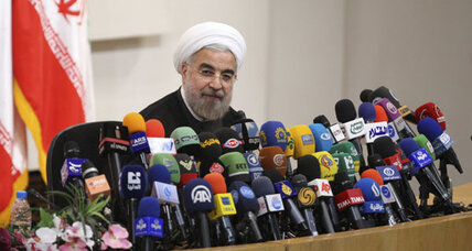 Iran's Rohani vows not to surrender to sanctions