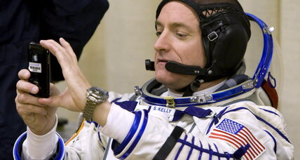 Why one of NASA's twin astronauts is younger than the other