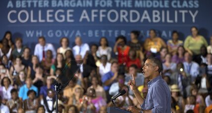 Obama plan to rank colleges: Will it raise thinking skills?