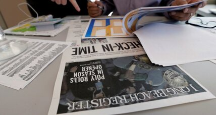 In with the old? California gets new newspaper. Patch news sites cut back.