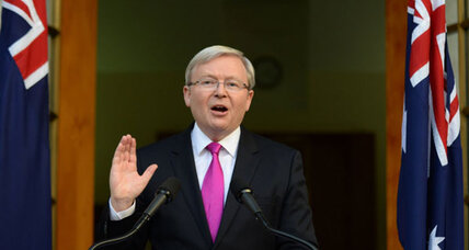 Australia's Rudd calls election, hoping to revive Labor's fortunes