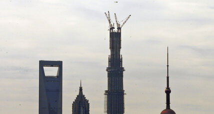 World's second-tallest building almost complete