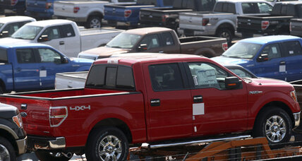 Automakers ride wave of truck sales, near post-recession record