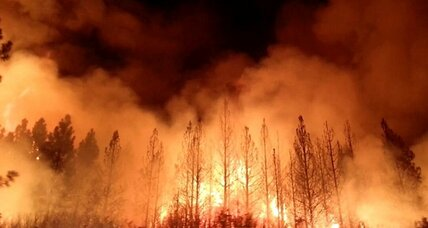 Wildfire near Yosemite spreads to 99 square miles