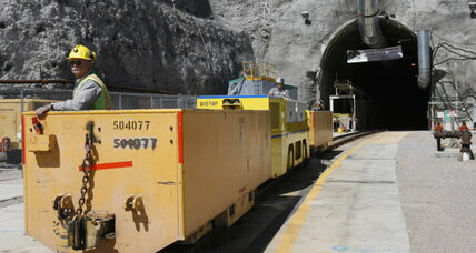 Yucca Mountain low