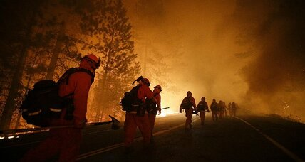 Yosemite fire keeps growing, threatening giant sequoias (+video)