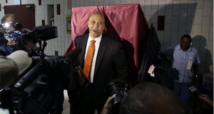 Booker and Lonegan win NJ primaries, face off for Senate seat