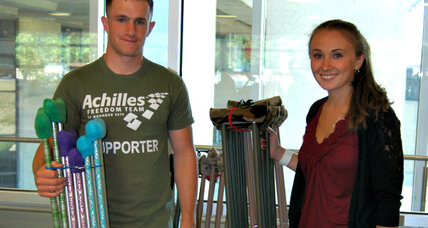 A teen starts Genevieve's Crutches to give others an extra boost