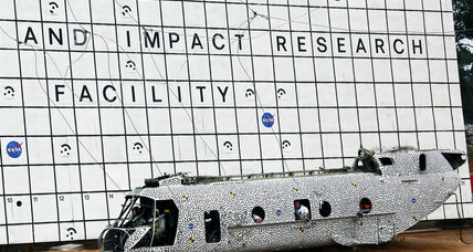 NASA celebrates successful helicopter crash