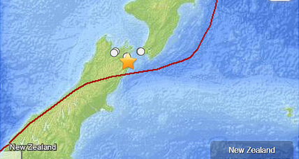 New Zealand earthquake: Another large quake strikes near Wellington