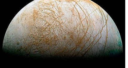 Jupiter's moon Europa: Send a submarine to explore it?