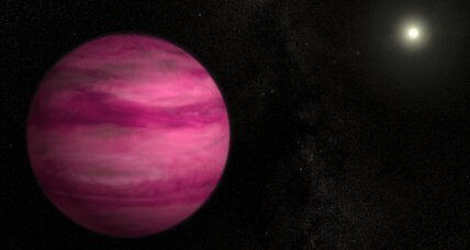 How a pink planet is shaking up planet-formation theory