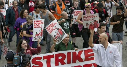 Fast-food wage protest: Is $15 an hour asking too much?