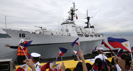 Philippines warship: Old US Coast Guard cutter gets second life