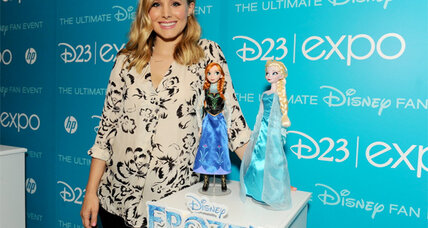 Kristen Bell stars in the animated Disney movie 'Frozen' (+trailer)